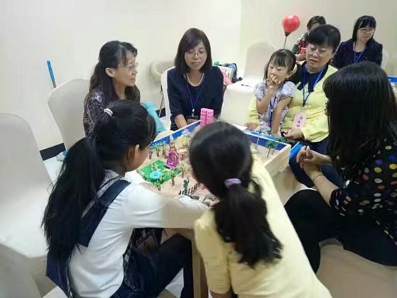 互动吧-滨州市心理咨询师协会~静待花开之沙盘课程开课了……