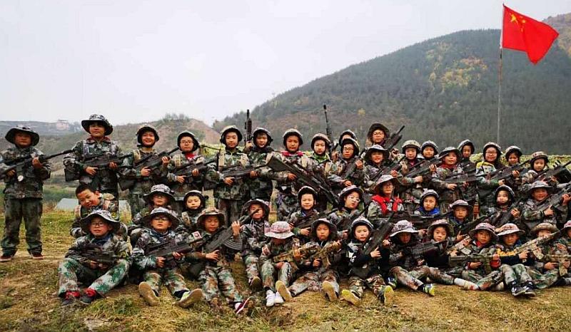 莲花山两天一夜军事成长营