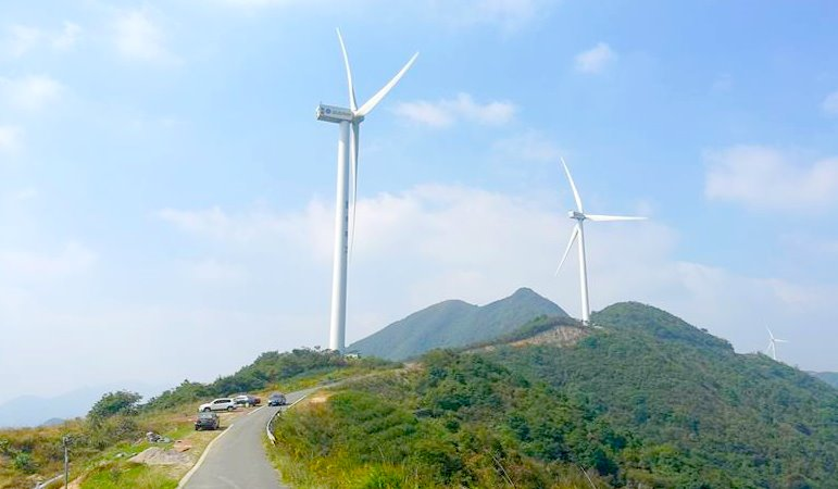 [古道探秘]宁波的香格里拉,徒步菩提岭古道,穿越风车公路