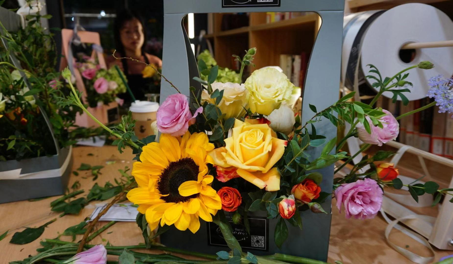 做自己的花艺师,DIY一份属于自己的花艺作品